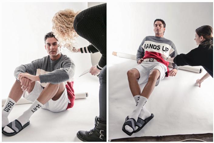 backstage portfolio shoot male model mannelijk model fotostudio evely duis reusel noord brabant eindhoven tilburg fotoshoot