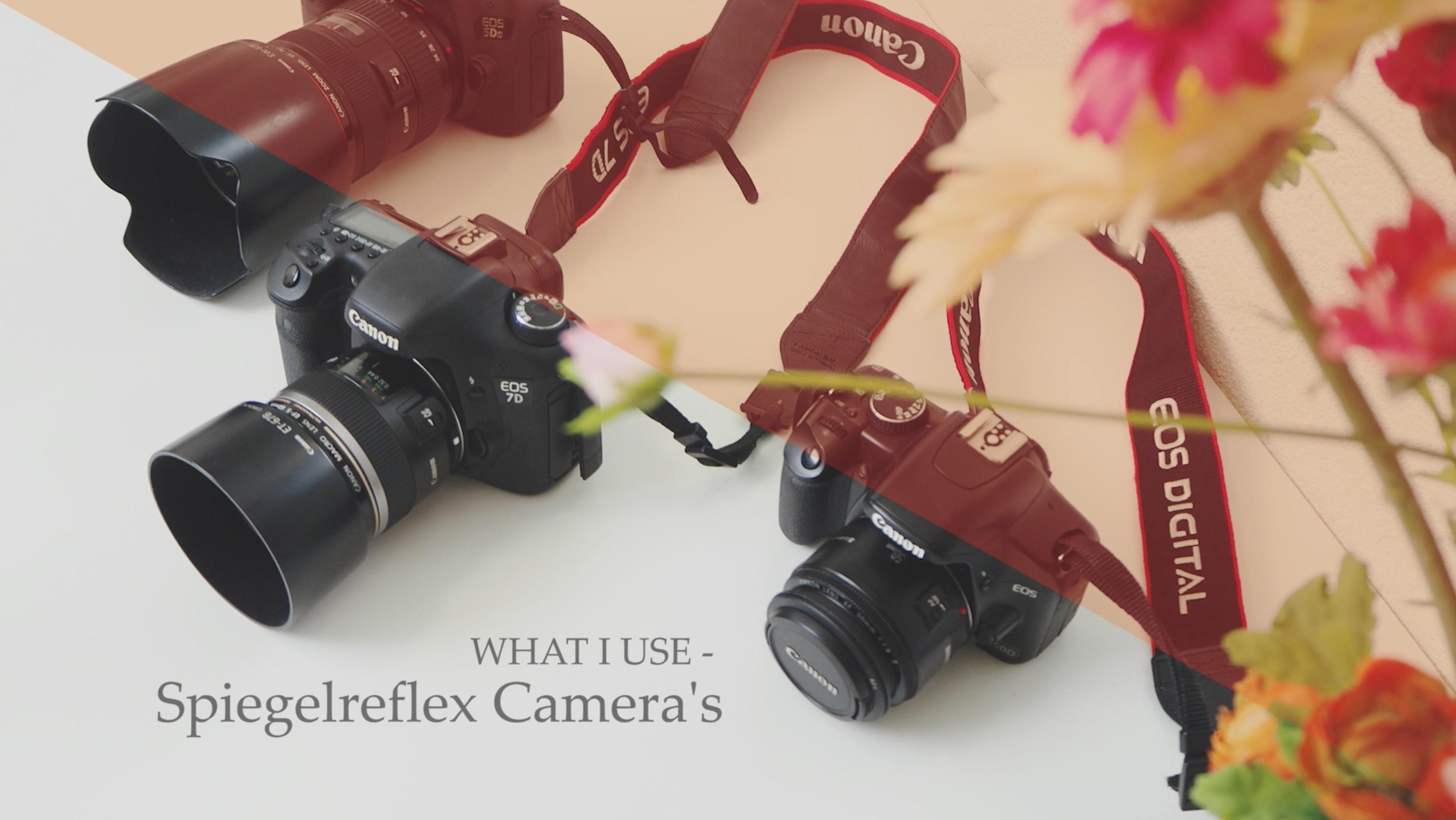 WHAT I USE –  Spiegelreflex, welke camera heb ik?