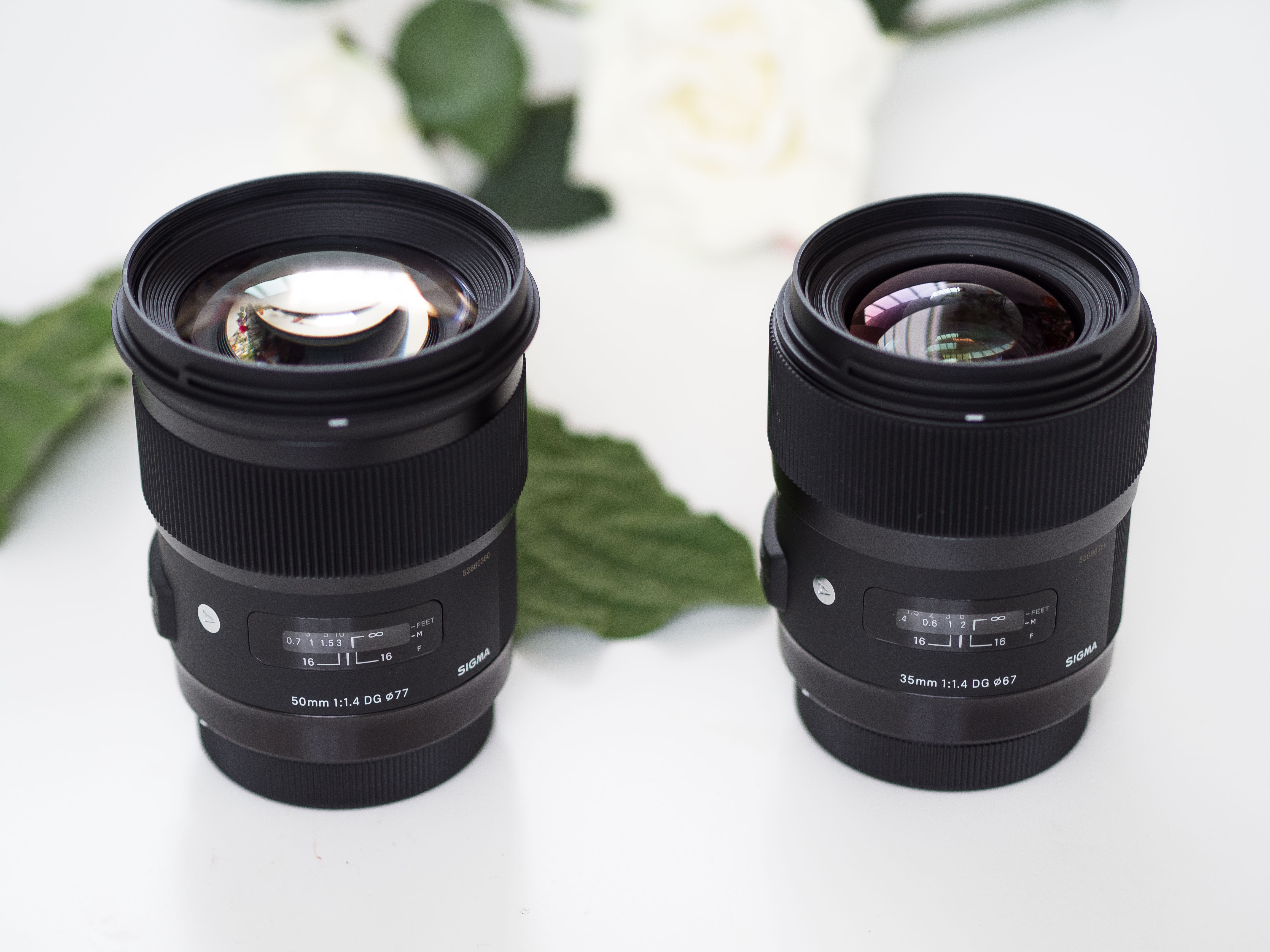 SIGMA ART 35mm & 50mm f/1.4 test en review