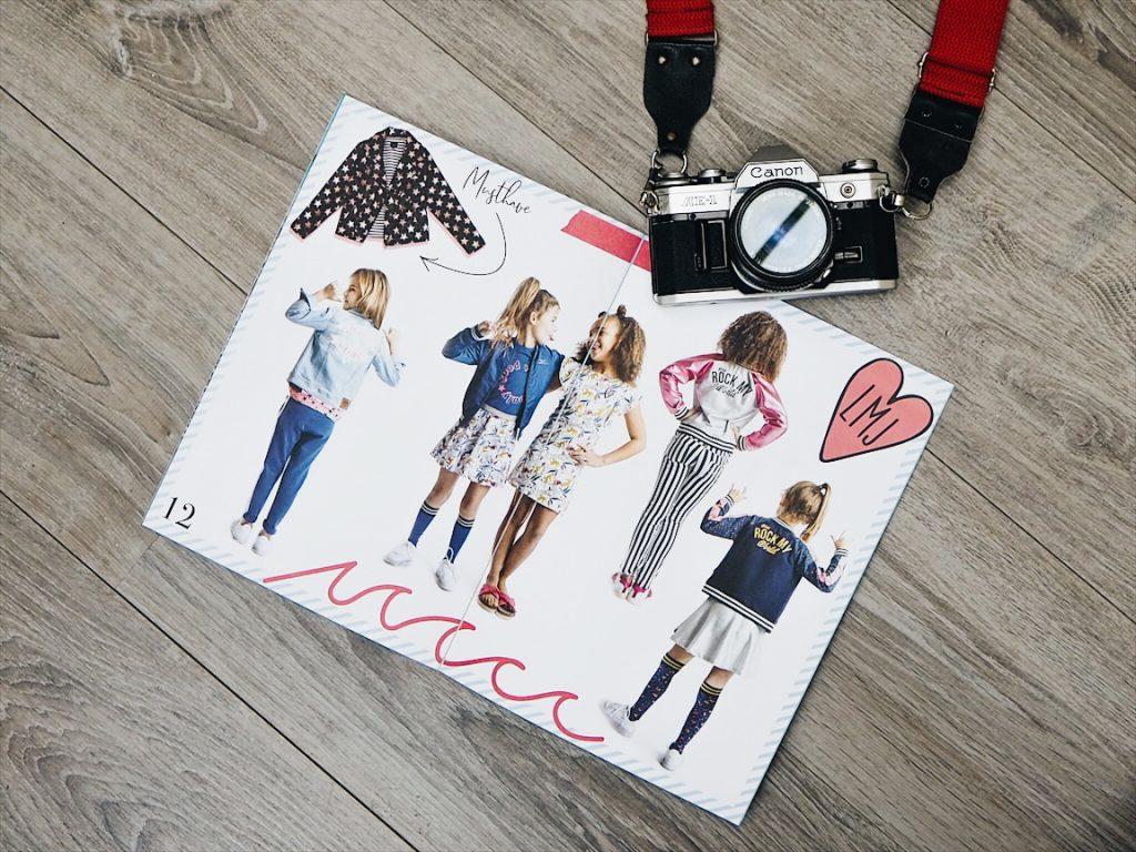 fotoshoot Kinder kleding merk